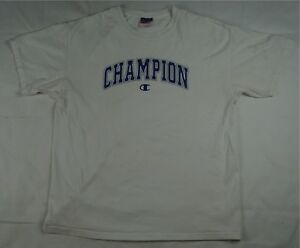 a6c488c6 Rare Vintage CHAMPION Spell Out C Logo On Short Sleeve T Shirt 90s ...