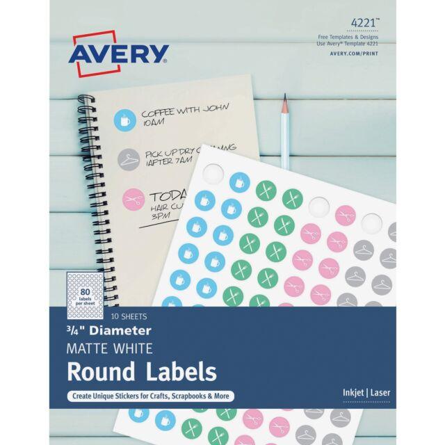 Avery 4221 3/4