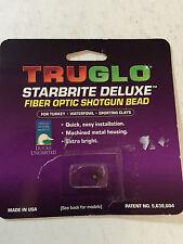 New Truglo Starbrite Deluxe Fiber-Optic Shotgun Sight - RED- 6-48 - TG954AR