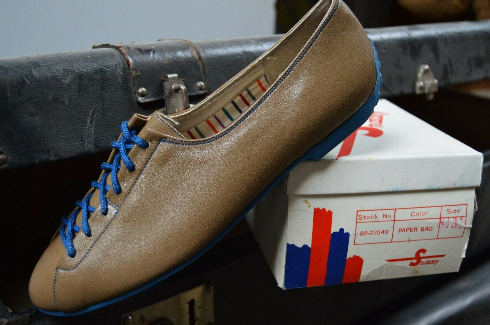 Snazzy zapato zapato zapato bajo nos 90s True vintage casual plano bailarinas 38,5  caliente