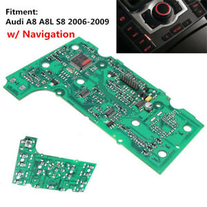 3G Multimedia MMI Control Panel Circuit Board with Navigation
