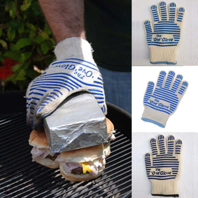Double-Sided Silicone High-Temperature Anti-Hot Insulation Comfortable BBQ Glove