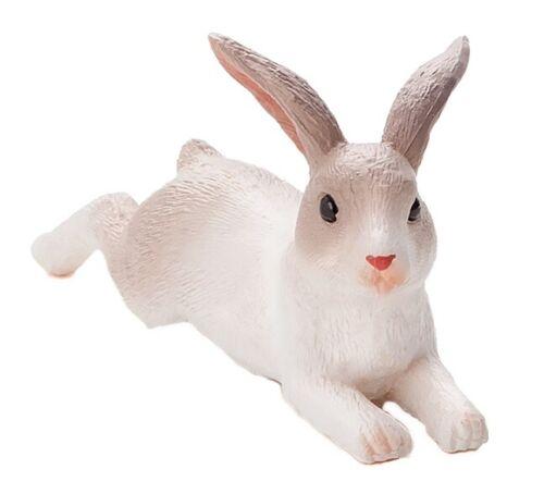 Mojo 387142 conejo tirados 6 cm granja animales