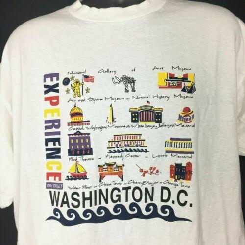 Washington DC Experience 15th Street T Shirt Vinta