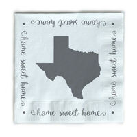 Occasionally Made Beverage Napkin Texas