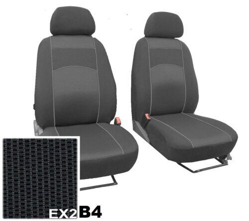 """Ford Focus Mk3 2011 en adelante Tela /""""VIP/"""" Cubiertas Asiento Delantero hecho a la medida"""