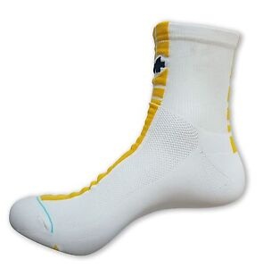 Cycling Socks ASSOS MILLE White//Blue Made In Italy US 9.5-12 EU 43-46