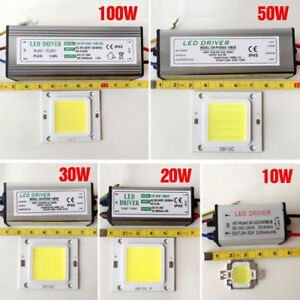 10W-20W-30W-50W-70W-100W-LED-Driver-LED-Chip-Power-Waterproof-Supply-High-SMD