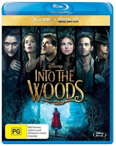 1 of 1 - Into The Woods (Blu-ray, 2015)