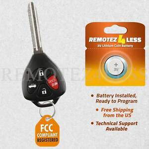 Details About Replacement For 2011 Toyota Camry Keyless Entry Remote Car Control Key Fob G