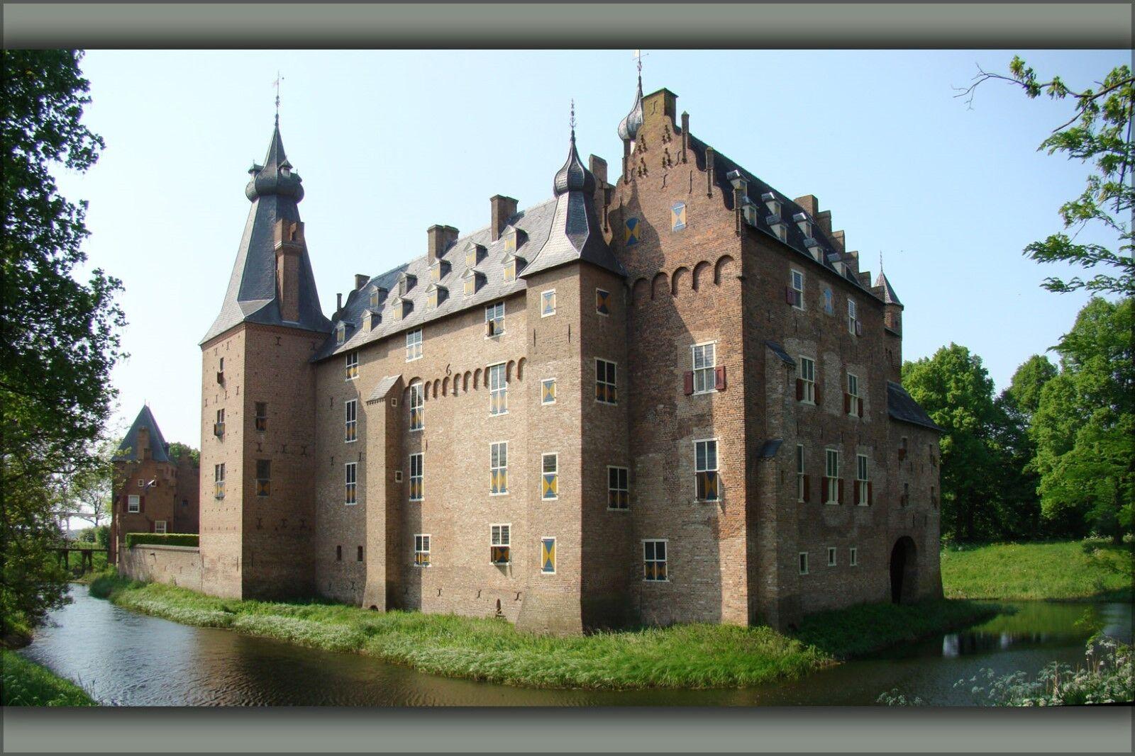 Plakat, Viele Größen; Schloss Doorwerth