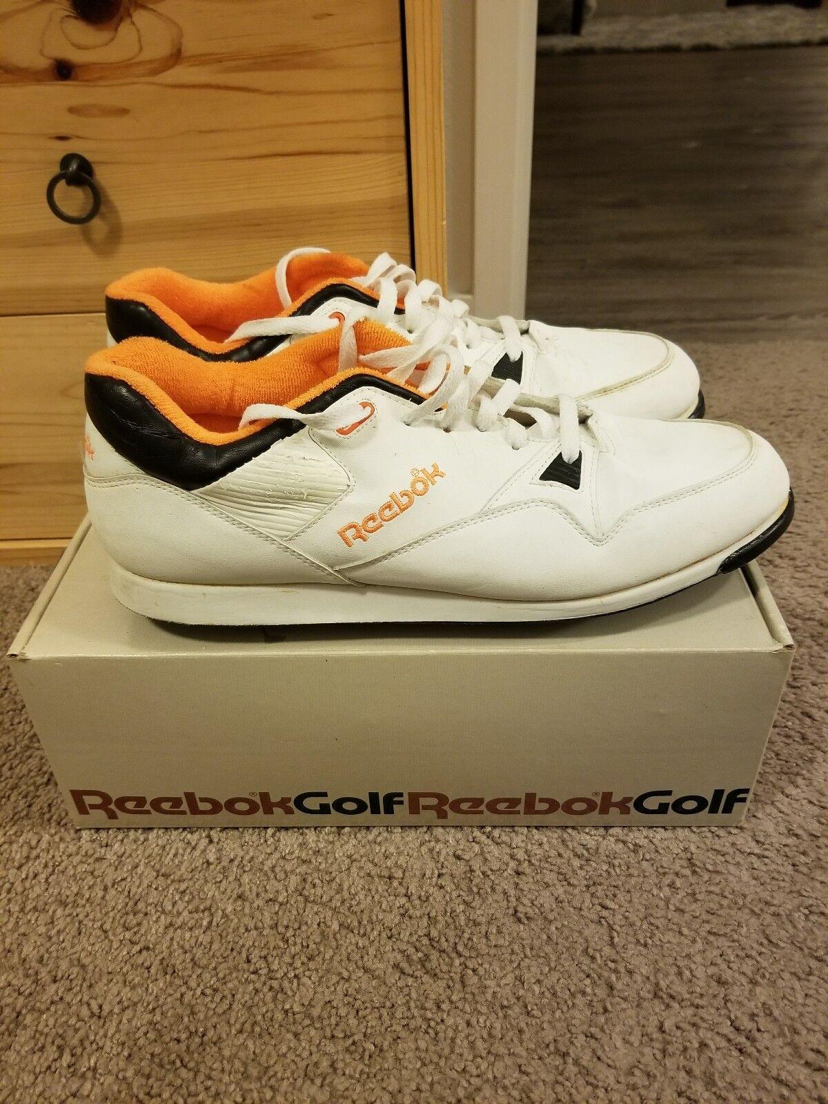 Vintage Shoes 1988 Reebok Vitality Golf Shoes Vintage Uomo's Sz. 13M 99b92a
