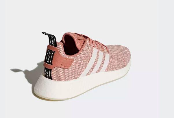 Adidas Adidas Adidas NMD R2 W Ash Pink Crystal White Womens Size 9 US NIB CQ2007 e40f0a