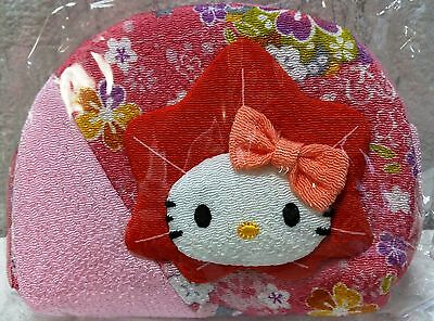Rare New Sanrio Japan Only Limited Cute Hello Kitty Pink Zipper Pouch Bag Sealed