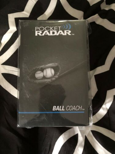 Pocket Radar Ball Coach All Purpose Portable Speed Radar PR1000-BC