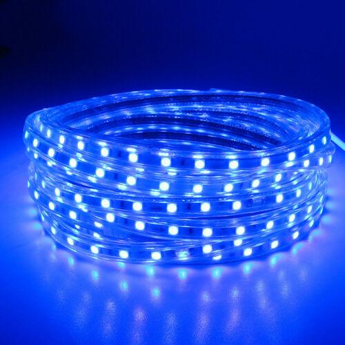 10M 5050 LED Strip Light 60leds//m Flexible tape rope Light Waterproof 220V 1M