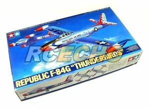 Tamiya-Aircraft-Model-1-48-Airplane-Republic-F-84G-Thunderbirds-Hobby-61077