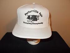 VTG-1980s Porterville Fair SheepDog Championship foam mesh snapback hat sku12