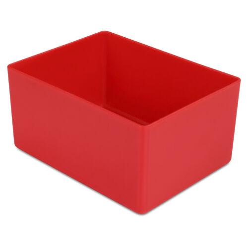 Schubladen-Einsatzkasten 54 mm hoch PS 10 St aus schlagfestem Hartkunststoff
