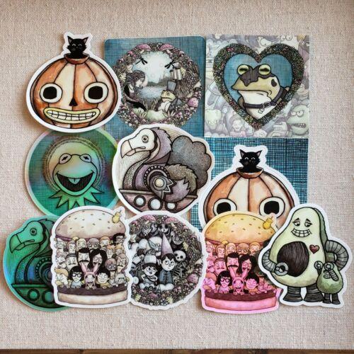 Fan Art Mystery Print Plus Sticker!