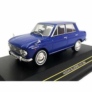 PREMIER-43-1-43-NISSAN-Bluebird-410-1963-bleu-F43-133-mini-voiture-avec-suivi-NEUF