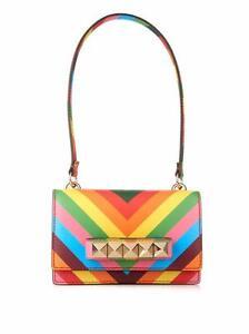 Image Is Loading Valentino Rockstud Va Voom 1973 Rainbow Multicolor