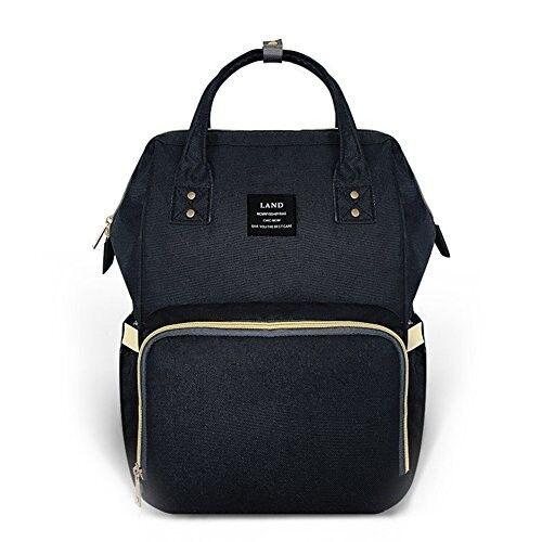 Ticent Diaper Bag Multi-Function Waterproof Travel Backpack more, Black