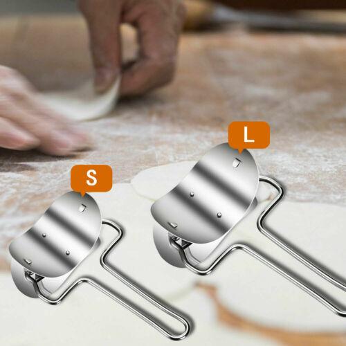 Set Of Dumpling Mould Maker Slicer Cutter Stainless Steel DIY Easy Kitchen Tool