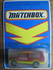 1/64 VINTAGE BULGARIAN MATCHBOX RED YELLOW MATRA  RANCHO MINT UNPUNCHED BLISTER