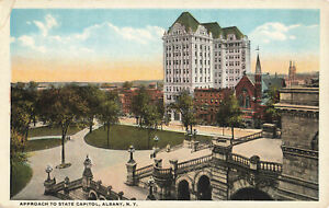 Postcard-State-Capitol-Albany-New-York