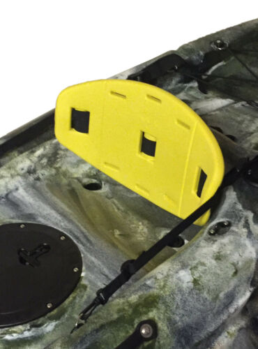 KTS-007 FOAM KAYAK BACKREST PAD canoe back rest YELLOW or BLACK