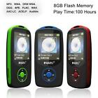 64G Support RUIZU X06 Bluetooth Sport MP3 Player TF Card Music Media 1.8 TFT MT