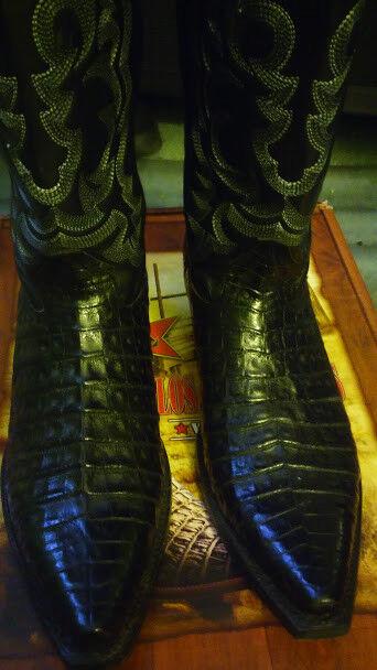 LOS ALTOS BOOTS ORIGINAL DE COCODRILO   BOTAS VAQUERAS COWBOY BOOTS