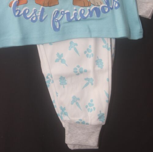 PETER RABBIT Pyjamas//Unisex Blue /& White Boy/'s //Girl/'s PJs Sizes 3-4 /& 5-6 Years