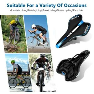 Comfort Wide Big Bum Mountain Road Bike Bicycle Sport Soft Pad Saddle Seat