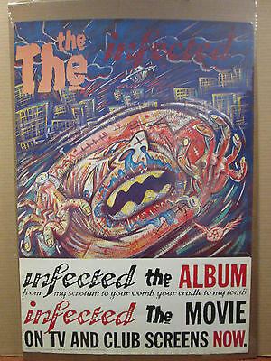 Vintage The Infected 1986 original music album artist movie poster 9718