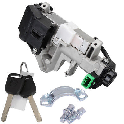 Car Ignition Switch Cylinder Lock Auto Trans For Honda CRV 2003-2006 with 2 keys