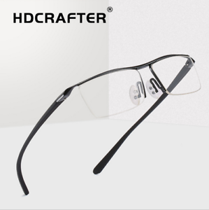 7788e8a30610 Men's Rimless Glasses Rx Optical Eyeglasses Memory Titanium Glasses ...