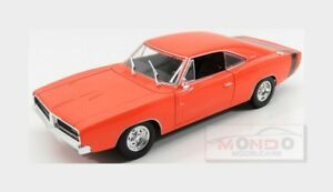 Dodge-Charger-R-T-Coupe-1969-Orange-MAISTO-1-18-MI31387OR