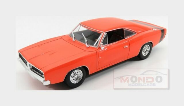 Dodge Charger R/T Coupe 1969 Orange MAISTO 1:18 MI31387OR