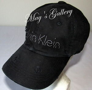 96580dab0a9 CK Calvin Klein BaseBall Cap Ball Hat Military NWT One Size C.K. ...