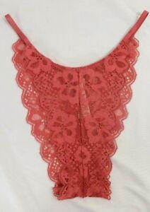 L XL Victoria/'s Secret Dream Angels High Brazilian Lace Panty XS s M