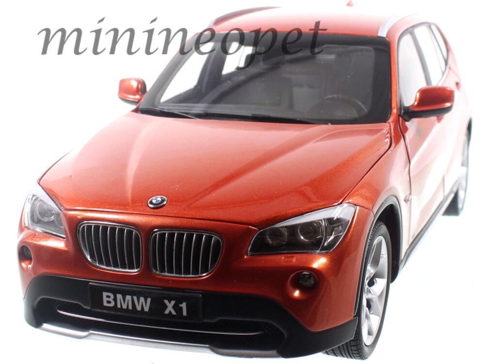 KYOSHO 08791VP BMW X1 xDRIVE 2.8i E84 1 18 DIECAST MODEL CAR VALENCIA orange