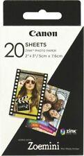 Artikelbild Canon Zink Papier ZP-2030 20 Blatt Selbsthaftend NEU OVP