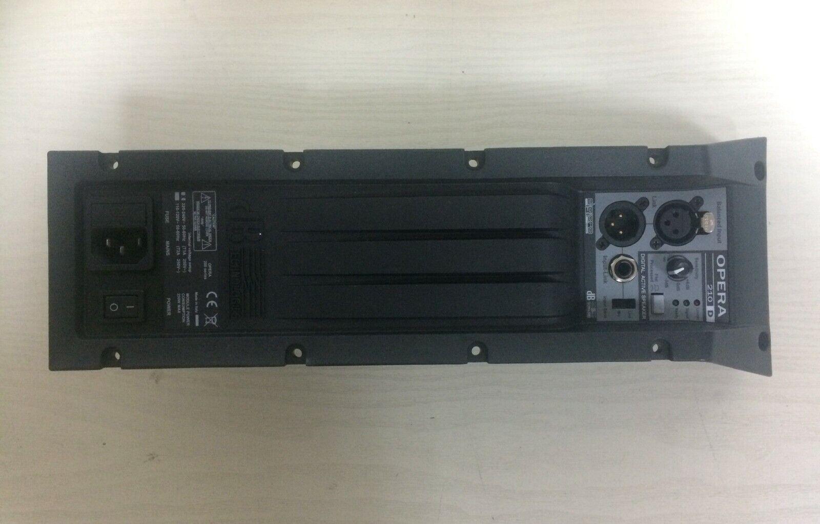 Pannello con modulo amplificatore per dB Technologies Opera 210D