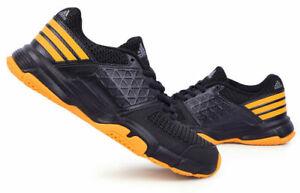 Details about adidas UEBERSCHALL F4 Men's Badminton Shoes Racquet Racket Black Indoor BB4835