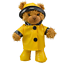 RAINCOAT-OUTFIT-FITS-8-inch-20cm-TEDDY-BEAR-CLOTHES-red-pink-green-yellow thumbnail 4