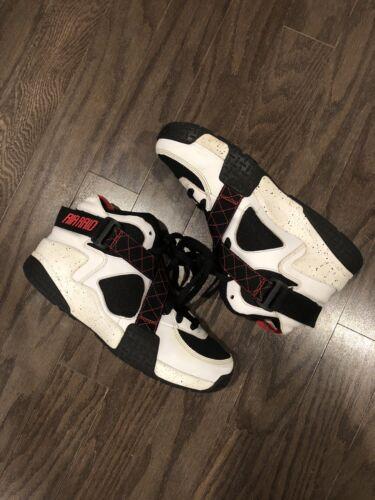 da da basket 5 uomo Size Retro Air Rosso Raid Scarpe Bianco Nero Nike 8 qTHEdExw