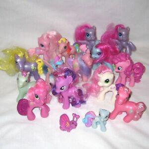 Lot 16 Small My Little Pony Toys Mcdonald S Mlp Horse Ponies Ebay