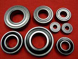 2 Stück Rillenkugellager  6204  2RS   20 x 47 x 14 mm  neu Industriequalität